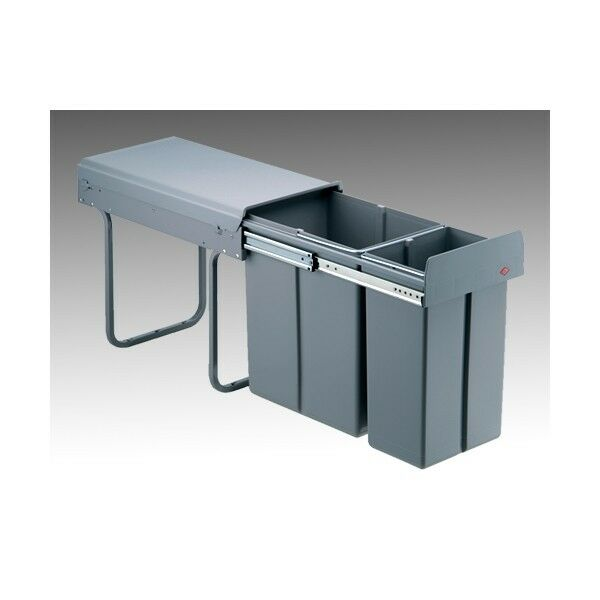 Einbau Abfallsammler Wesco Double-3 Abfalleimer Küche | Ebay