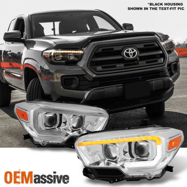 Toyota Tacoma Limited: Black 2016 2017 Toyota Tacoma TRD Sequential LED Square
