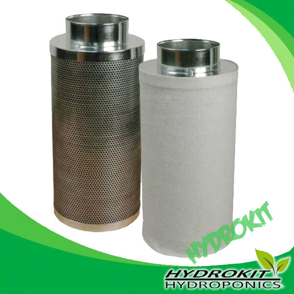 Carbon Filter 5  u003d extractor fan hydroponics grow tent 125mm  sc 1 st  eBay & Carbon Filter 5