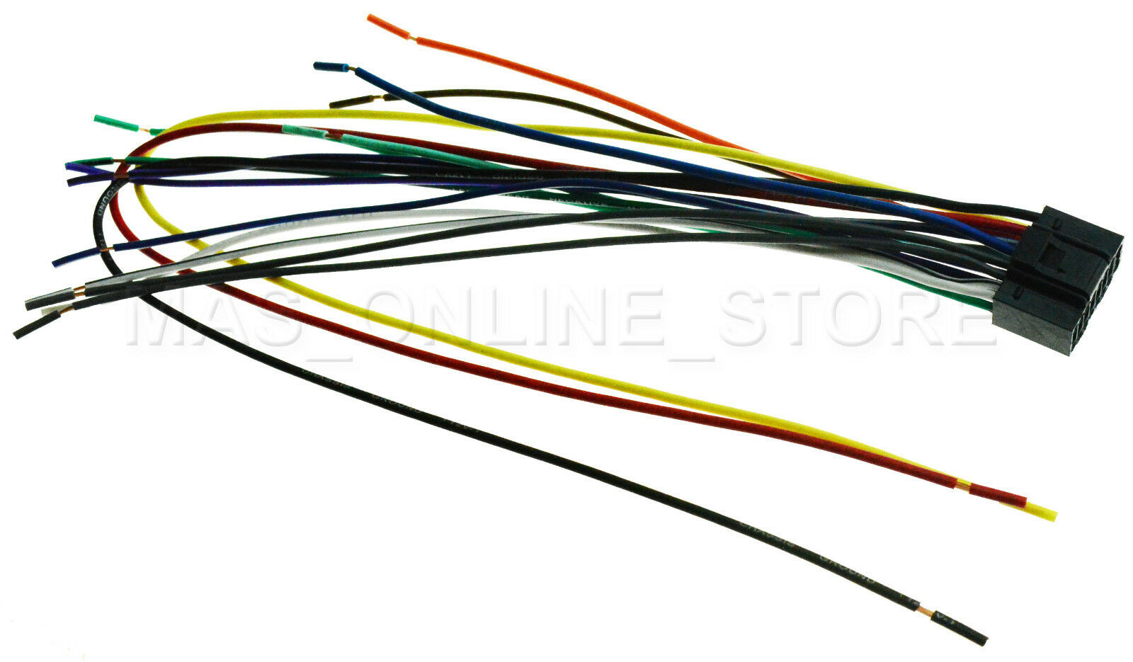 Wiring Diagram Kenwood Kdc Bt310u X797 Car Stereo Harness Wire For Kdcbt310u Ships Today 935