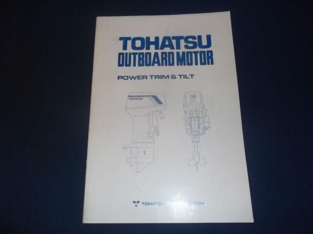 tohatsu nissan outboard power trim tilt service shop repair manual rh ebay com Nissan Repair Diagrams nissan outboard repair manual online
