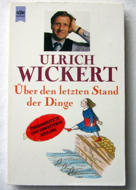 Buch - ÜBER DEN LETZTEN STAND DER DINGE - Ulrich Wickert