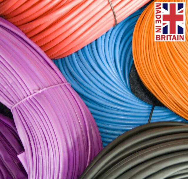 10mm Flexible PVC Sleeving Cable Wiring Harness Electrical ...