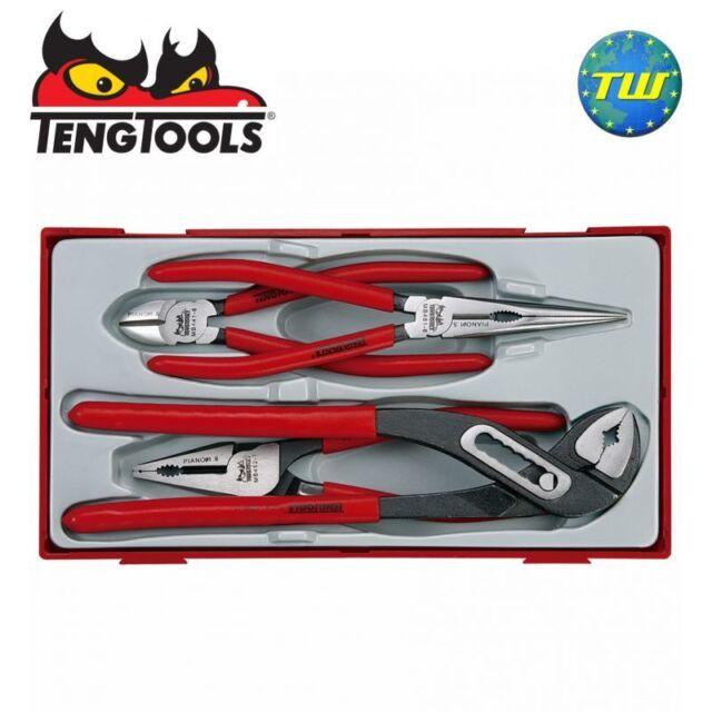 Teng 4pc Mega Bite Plier Set TT440 - Tool Control System