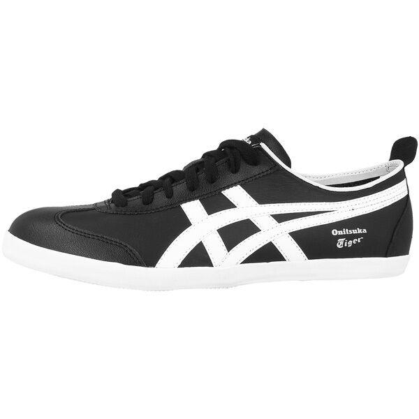 ASICS ONITSUKA TIGER Messico 66 Vulc Scarpe nere bianche d234l 9001 Sneaker per