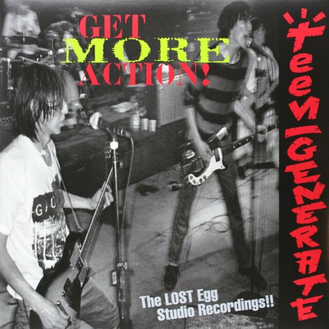 TEENGENERATE - GET MORE ACTION!!  VINYL LP NEU