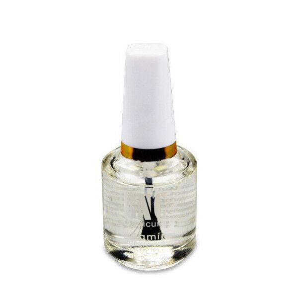 15ml Nail Hardener Clear Gloss Top Coat Cover Polish Nail Art Finish ...