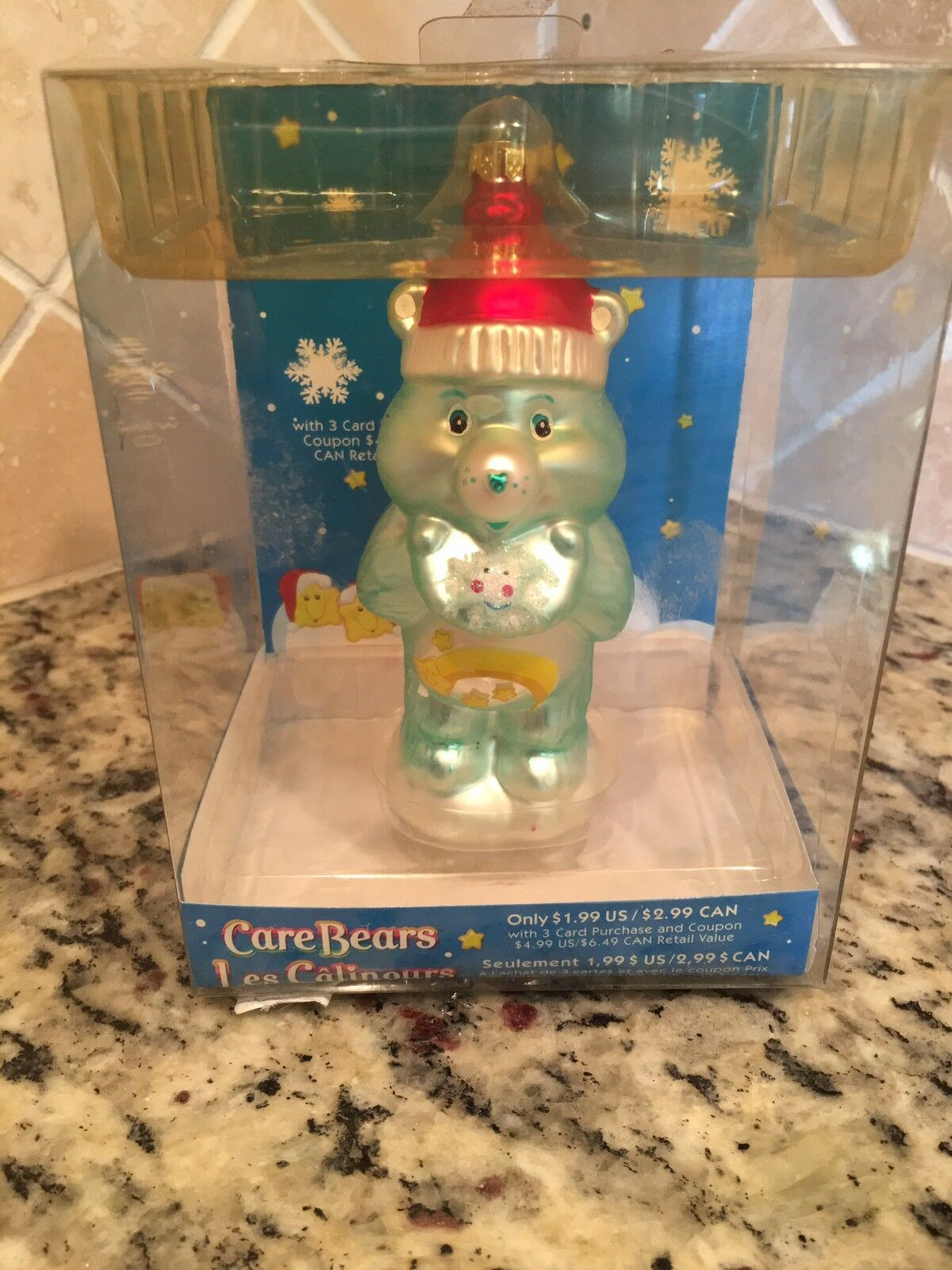 American greetings 2005 care bears wish bear glass blown ornament picture 1 of 6 kristyandbryce Choice Image
