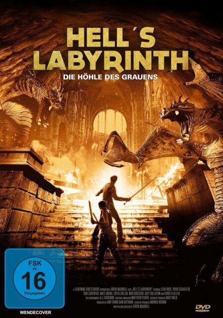 HELL`S LABYRINTH - Die Höhle des Grauens (DVD) *NEU OPV*