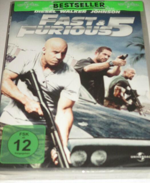 Fast & Furious 5 - DVD/NEU/OVP/Action/Vin Diesel/Paul Walker/Dwayne Johnson