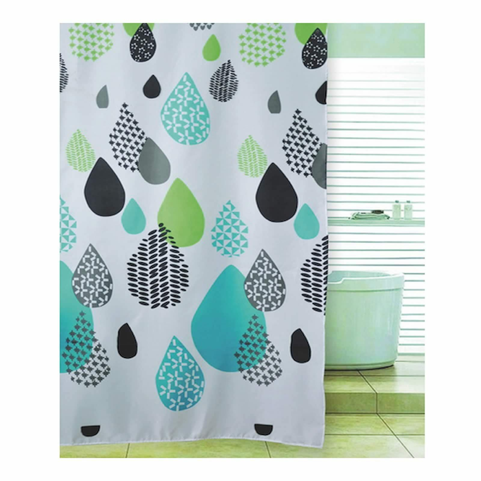 Blue Canyon Various Shower Curtains Petal Flower Ducks Owl Stripe