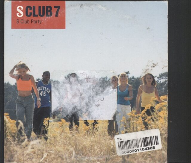 S Club 7 - S Club Party CD (card sleeve type)Club Party