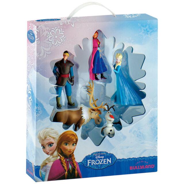 Frozen 5 Figure Set Bullyland Disney Deluxe Pack Gift Set Cake Toppers UK Seller