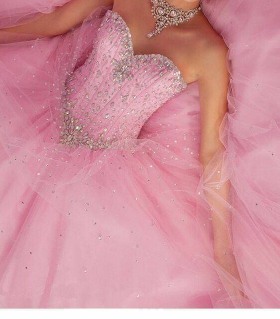 Ball gown quinceanera dress sweetheart beads long prom dresses jpg 563x640 Ebay  prom dress 7a0597010fd8