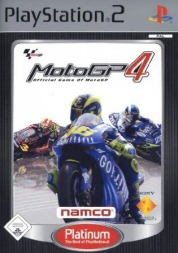 Moto GP 4  / MotoGP4 mit Anleitung (PS2) - DVD wie Neu