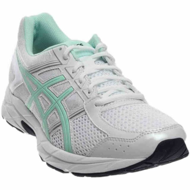 ASICS Gel-Contend 4 Blue;Silver;White - Womens - Size
