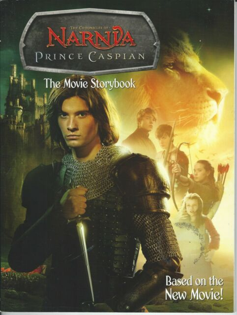 The Chronicles Of Narnia Prince Caspian The Movie Storybook HarperCollins Good