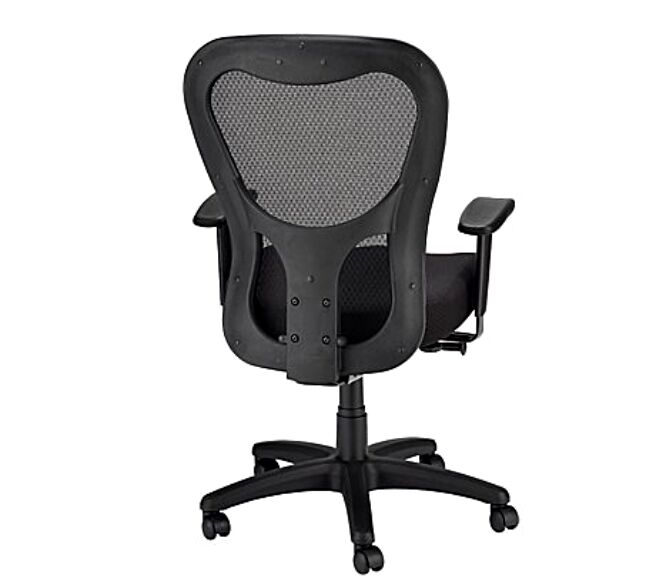 tempur-pedic tp9000 ergonomic mesh mid-back executive chair black