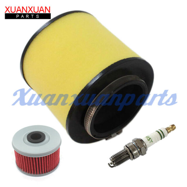 Oil Air Filter Cleaner Spark Plug for Honda Trx250te Recon 250 ES ...