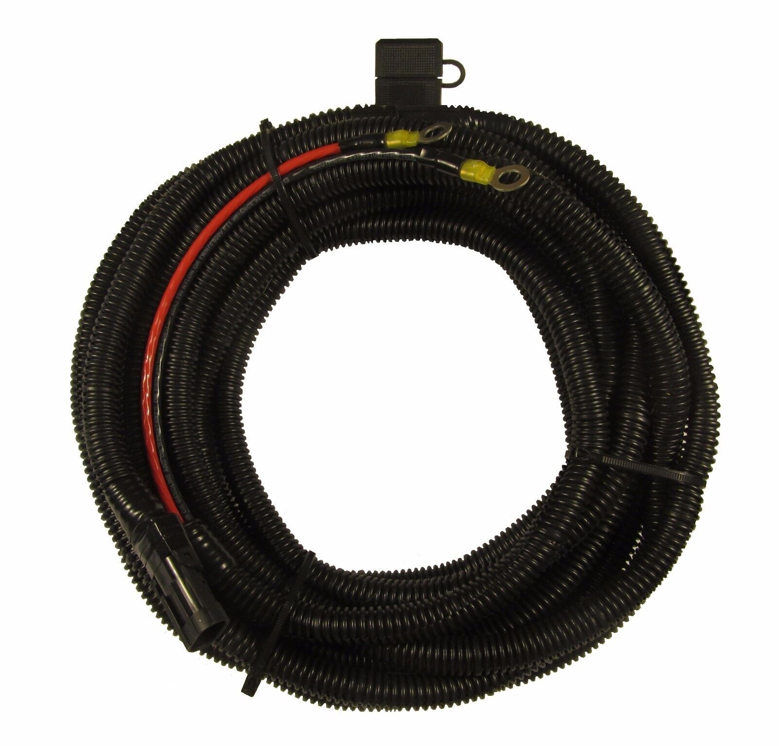 s l1600 harmar electric lift battery cable wiring harness 25ft 10 gauge ebay battery wiring harness at aneh.co