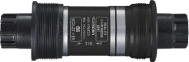 SHIMANO Octalink FahrradInnenlager BB-ES300 BSA 68mm 113/118/121/126mm Achslänge