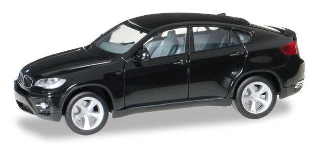 BMW X6 schwarz Maßstab 1:87 H0 - Herpa 024037-002