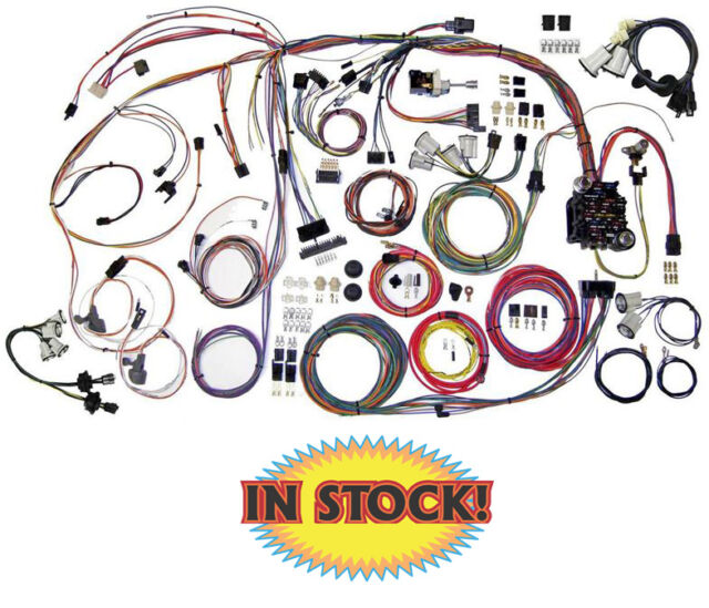 s l640 american autowire 1970 72 monte carlo wiring harness kit 510336 ebay monte carlo wiring harness at bayanpartner.co