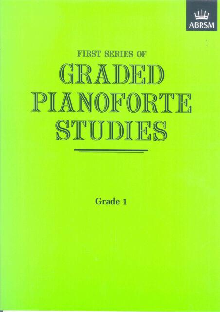 GRADED PIANO STUDIES 1st Series Grade 1