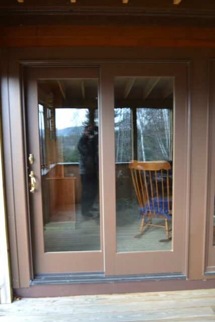 Anderson 400 Series Gliding Patio Door Panels Fixed and Active W ...