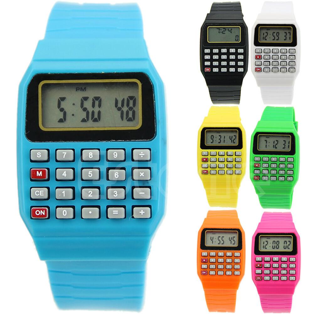 Children Electronic Calculator Silicone Date Multi-purpose Keypad ...