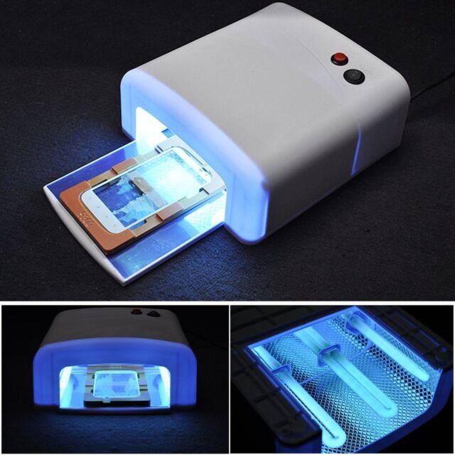 36W Pro Nail Polish Dryer Lamp LED UV Gel Acrylic Curing Light Spa + 4 Tubes