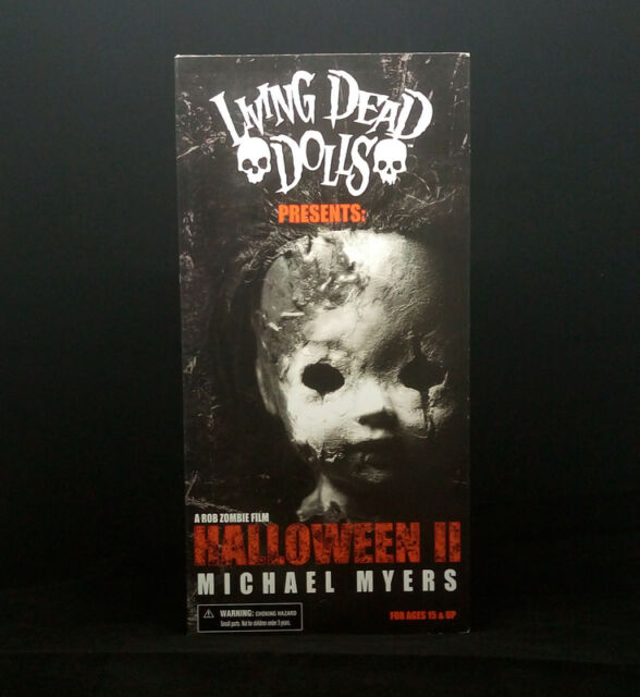 Halloween II Michael Myers Mezco Living Dead Dolls 2009 | eBay