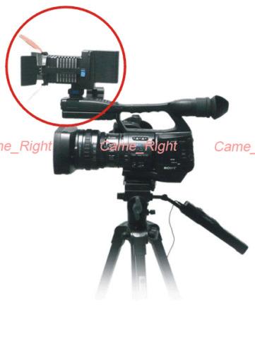 Photography 4 LED Light for DV video Camera Camcorder Lighting