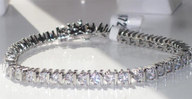 p 7 AAA Grade Simulated Diamond Tennis Bracelet Classic