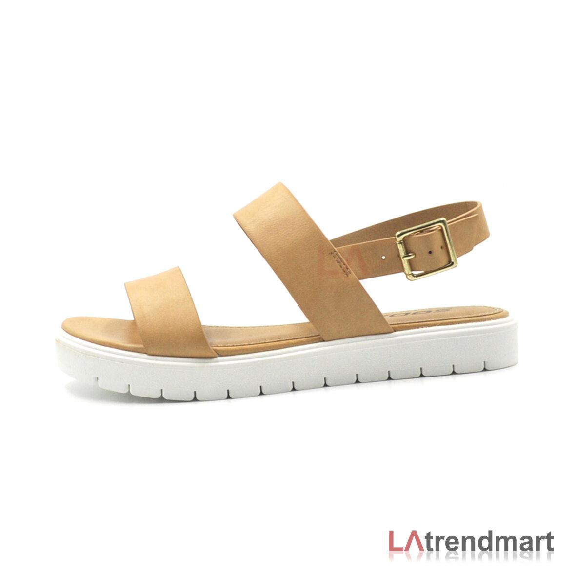 Soda Shoes  Soda Juniper Womens Sandals Tan
