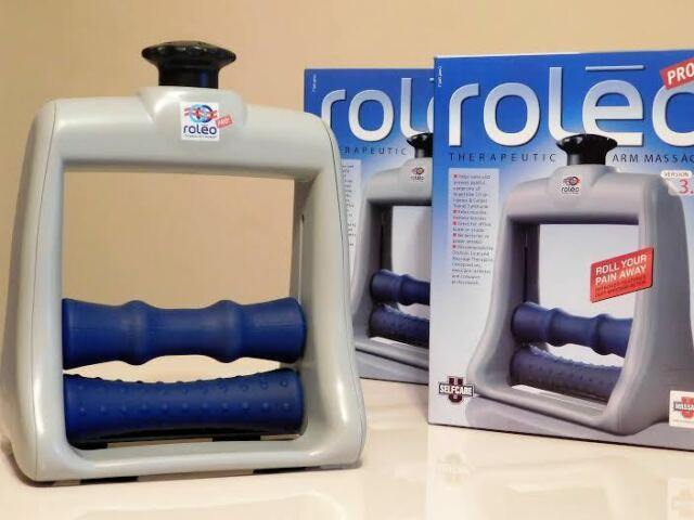 Roleo Pro Arm Wrist Hand Massager Carpal Tunnel Repetitive Stress ...