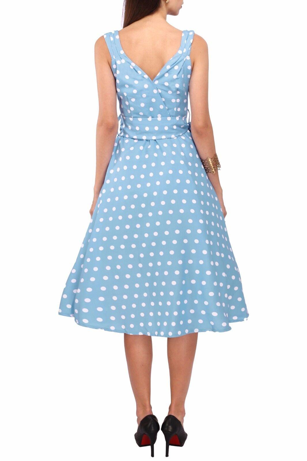Miss Lavish Dress 50\'s Prom Swing Vintage Rockabilly Retro Polka Dot ...