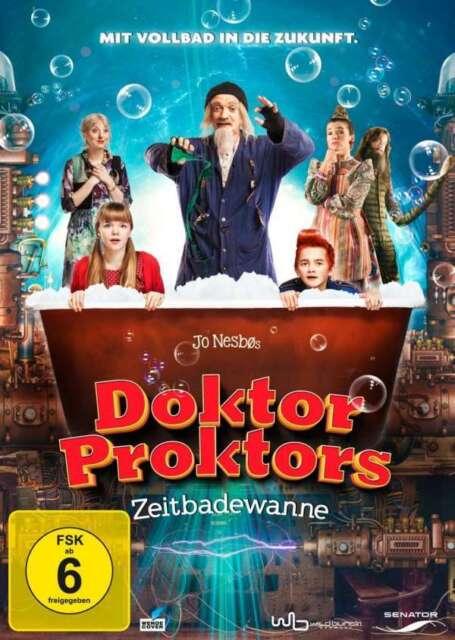 Doktor Proktors Zeitbadewanne - DVD