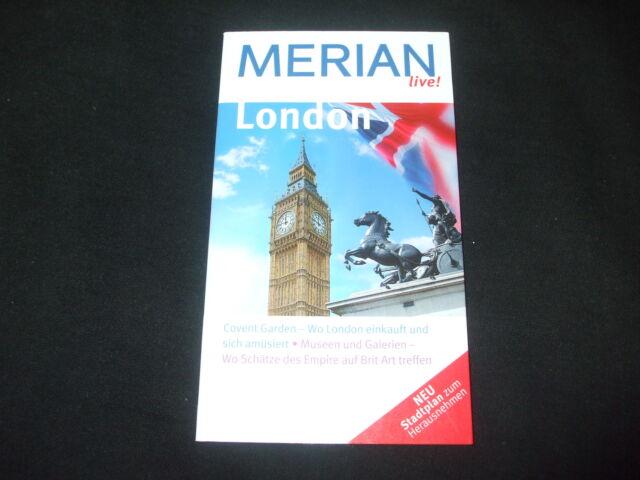 Merian live - LONDON mit Stadtplan zum herausnehmen - Heidede Carstensen