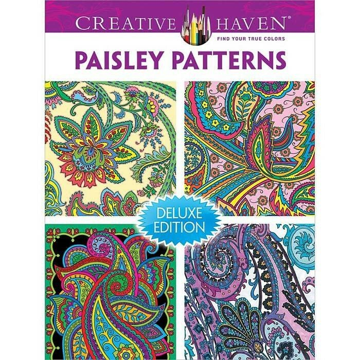 Creative Haven Coloring Bks PAISLEY PATTERNS