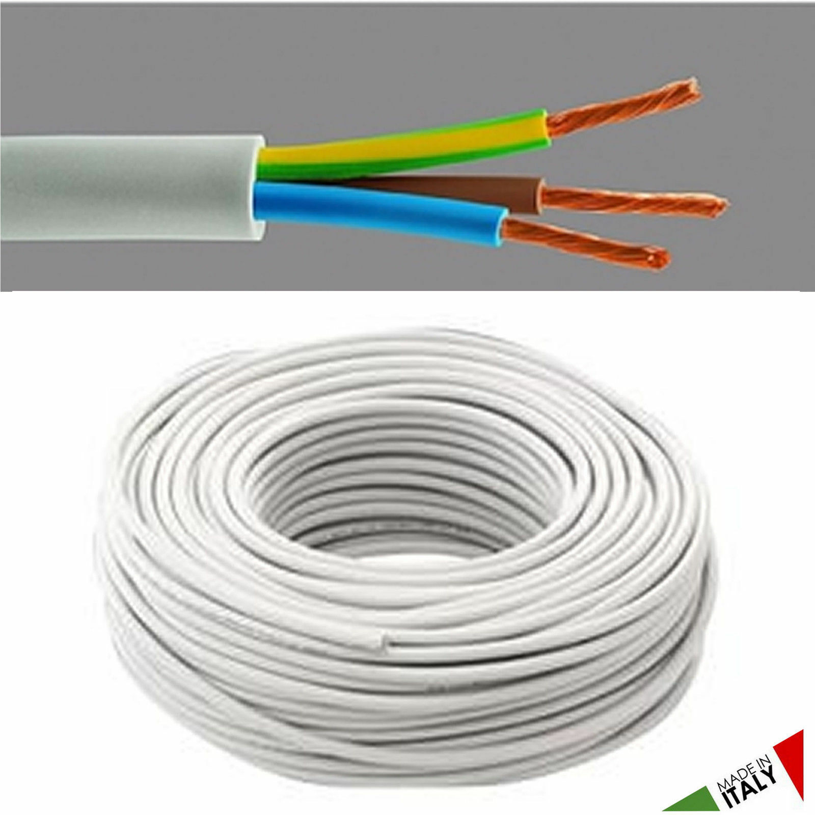Electric Cable Multipolar Fror 4x1 50 4g1 Unshielded 450 750v Cut Electrical Copper Wire Gauge 12 2 Romex Simpull Norton Secured Powered By Verisign