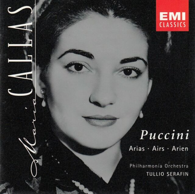 PUCCINI ARIAS - CALLAS, SERAFIN / CD - TOP-ZUSTAND