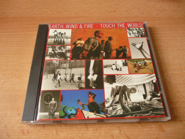 CD Earth, Wind & Fire - Touch the world - 1987 - 10 Songs