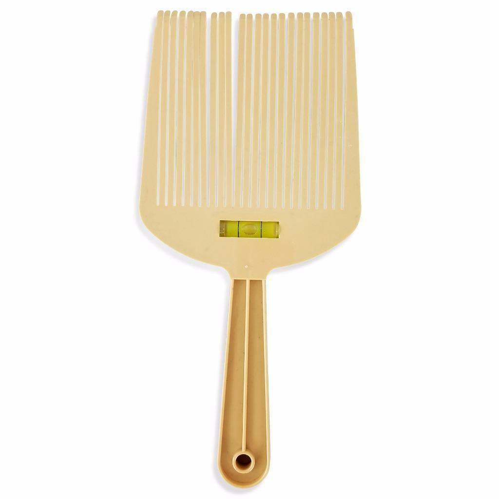 Flat Top Guide Comb With Liquid Bubble Level Flattopper Straight