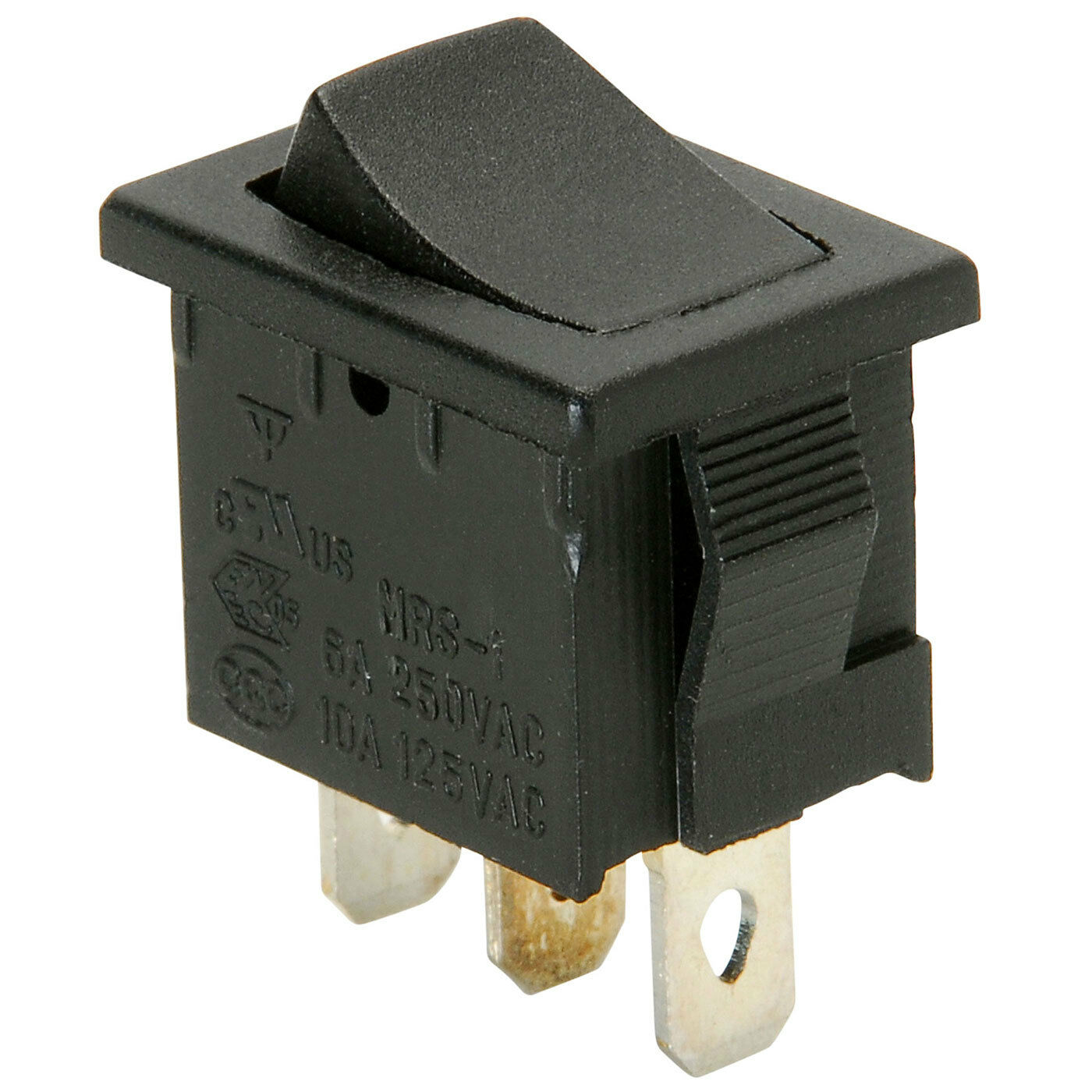 parts express spdt miniature rocker switch center off ebay rh ebay com On Off On Toggle Switch Rocker Switches by Sigma Switches