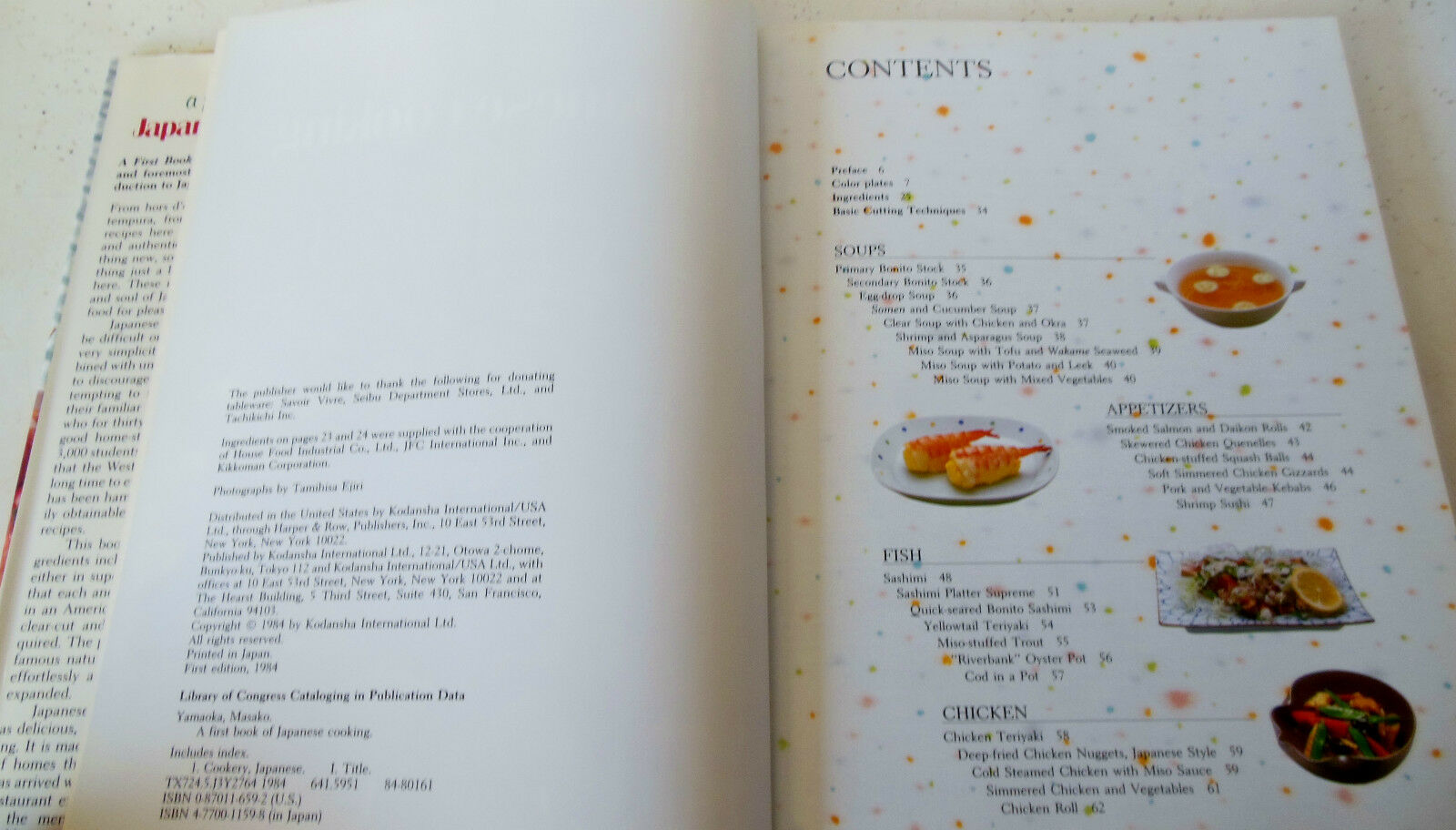 A First Book of Japanese Cooking by Masako Yamaoka (1984, Board Book ...