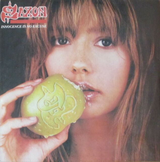 Saxon - Innocence Is No Excuse (Rare Parlophone-Records Vinyl-LP India 1985)