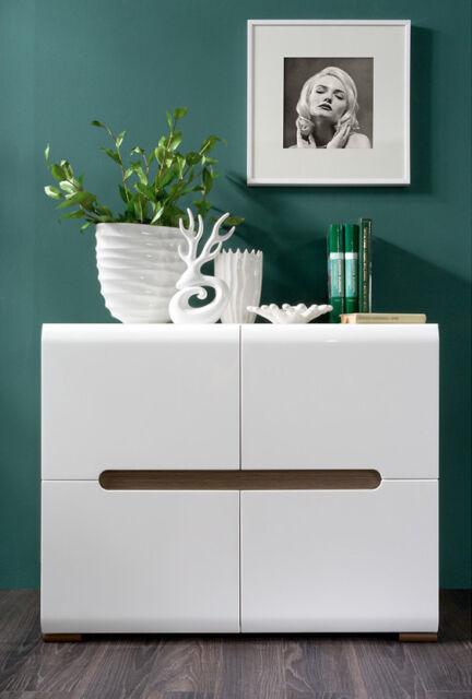 living room sideboards ebay. white gloss sideboard dresser buffet 4 door cabinet modern living room furniture sideboards ebay t