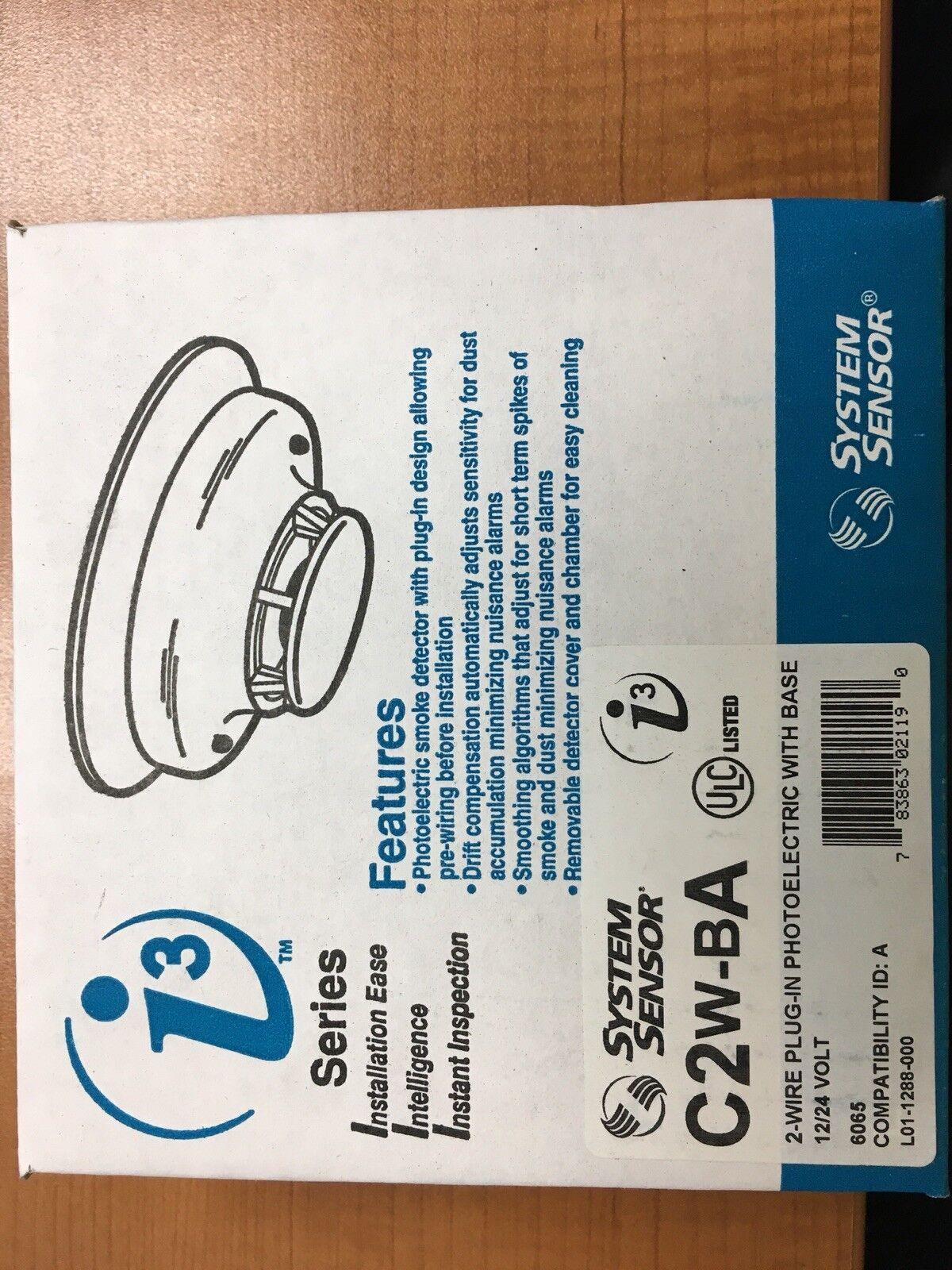 System Sensor C2w-ba Smoke Detector * | eBay