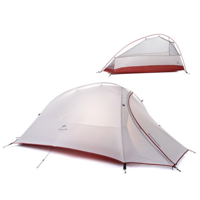 Naturehike 1 Person 4 Season Tent 20D Silicone Fabric Ultralight C&ing Tent  sc 1 st  eBay & Naturehike 1 Person 4 Season Tent 20d Silicone Fabric Ultralight ...